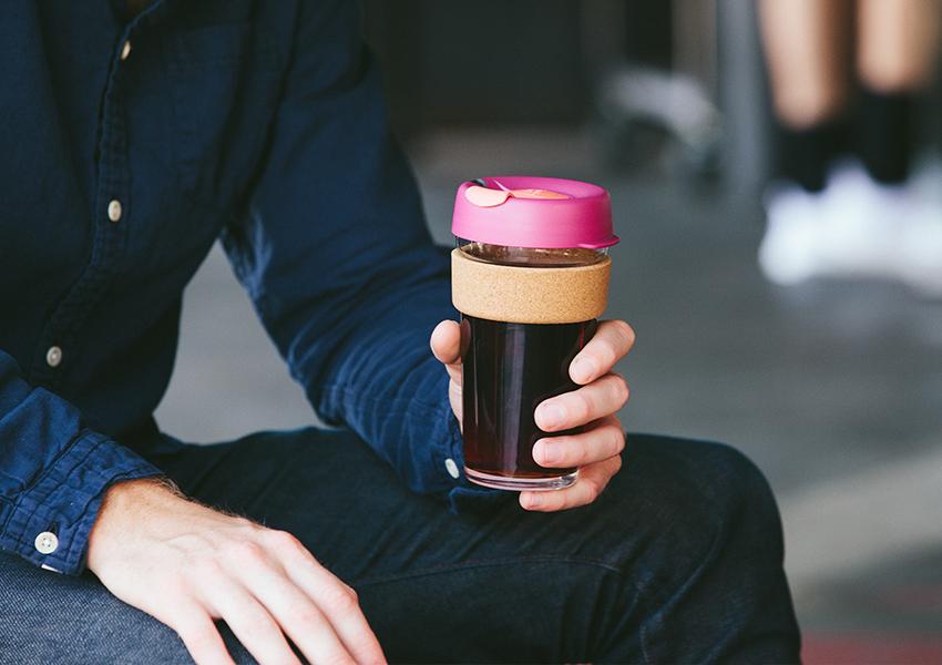 雙層玻璃咖啡杯